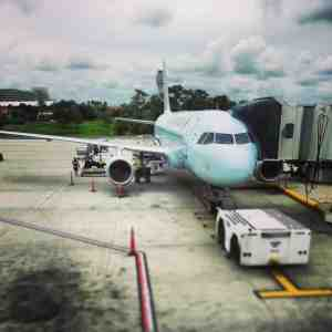 Plane and jetway copy